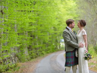 A Highland Wedding - Katie and Greg