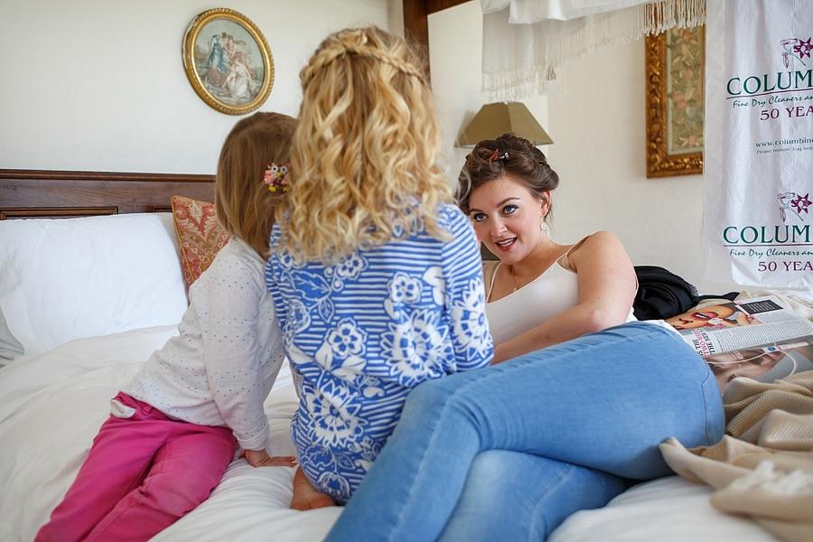bridesmaids and flowergirls talk