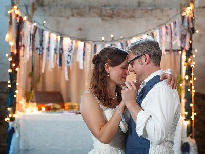 Laura and Russ's Handmade Wedding