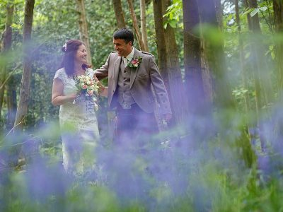 Bluebell Line Wedding - Jenny and Colin