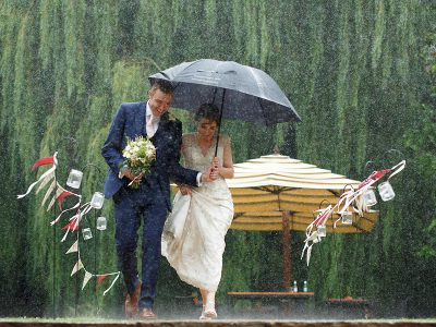Just One ... from Asni and Giles' Tuddenham Mill Wedding