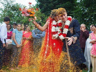 Sussex Barn Wedding - Aarohi and David