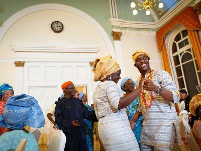 Bola and Oladele's Leyton Great Hall Wedding