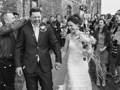 Godwick Great Barn Wedding - Kate and Ben