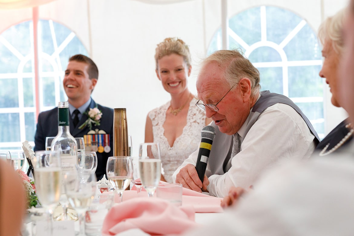 the brides fathers speech