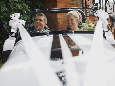 A Norfolk Wedding at home - Trixie and Ben