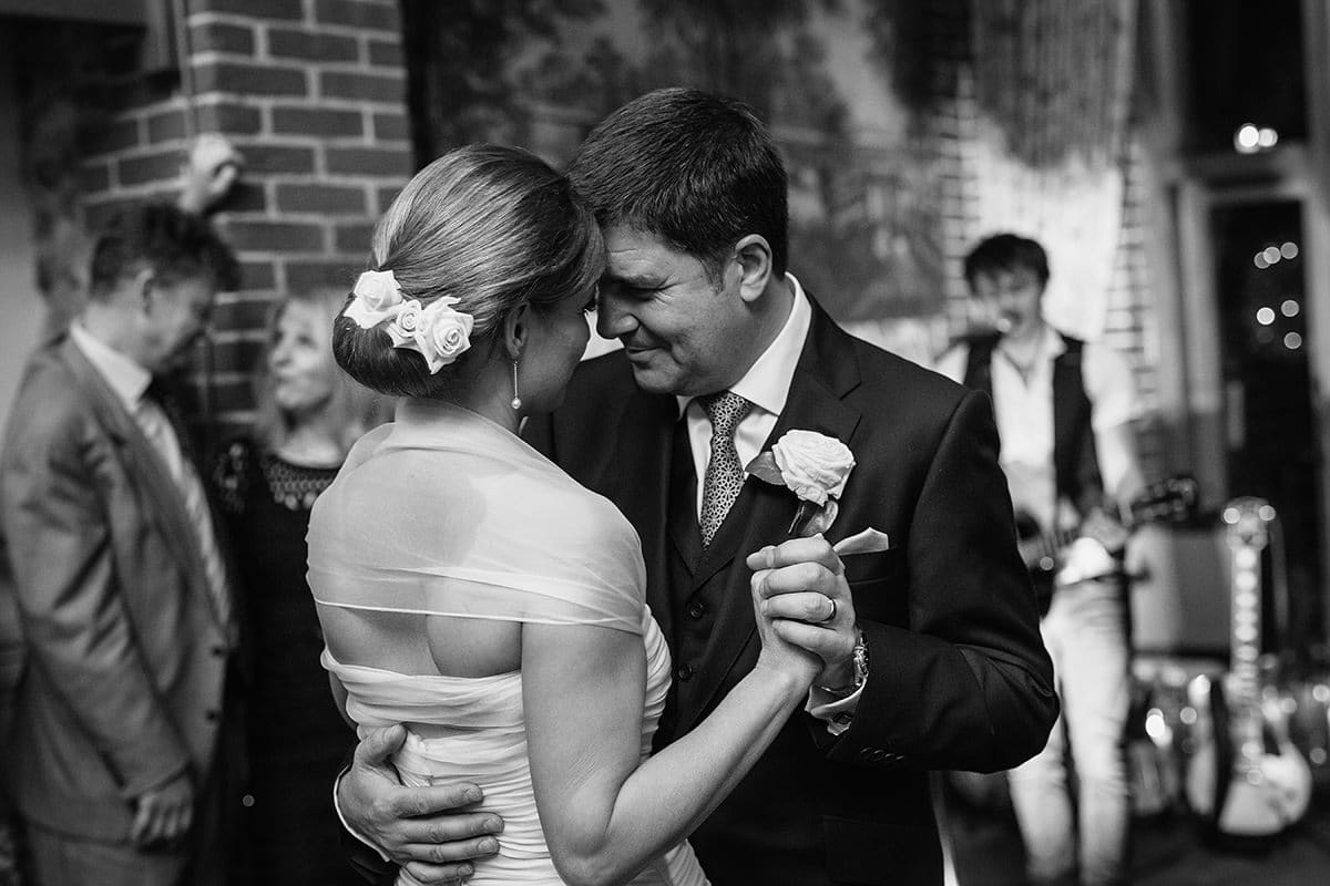 first dance at a winter wedding at chaucer barn