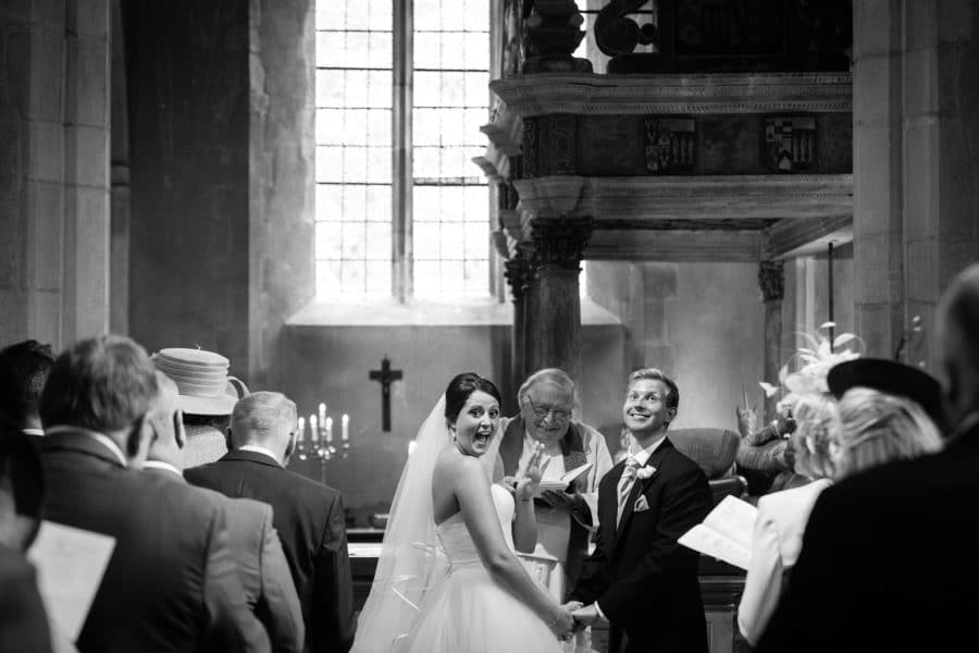 Hengrave Hall wedding ceremony
