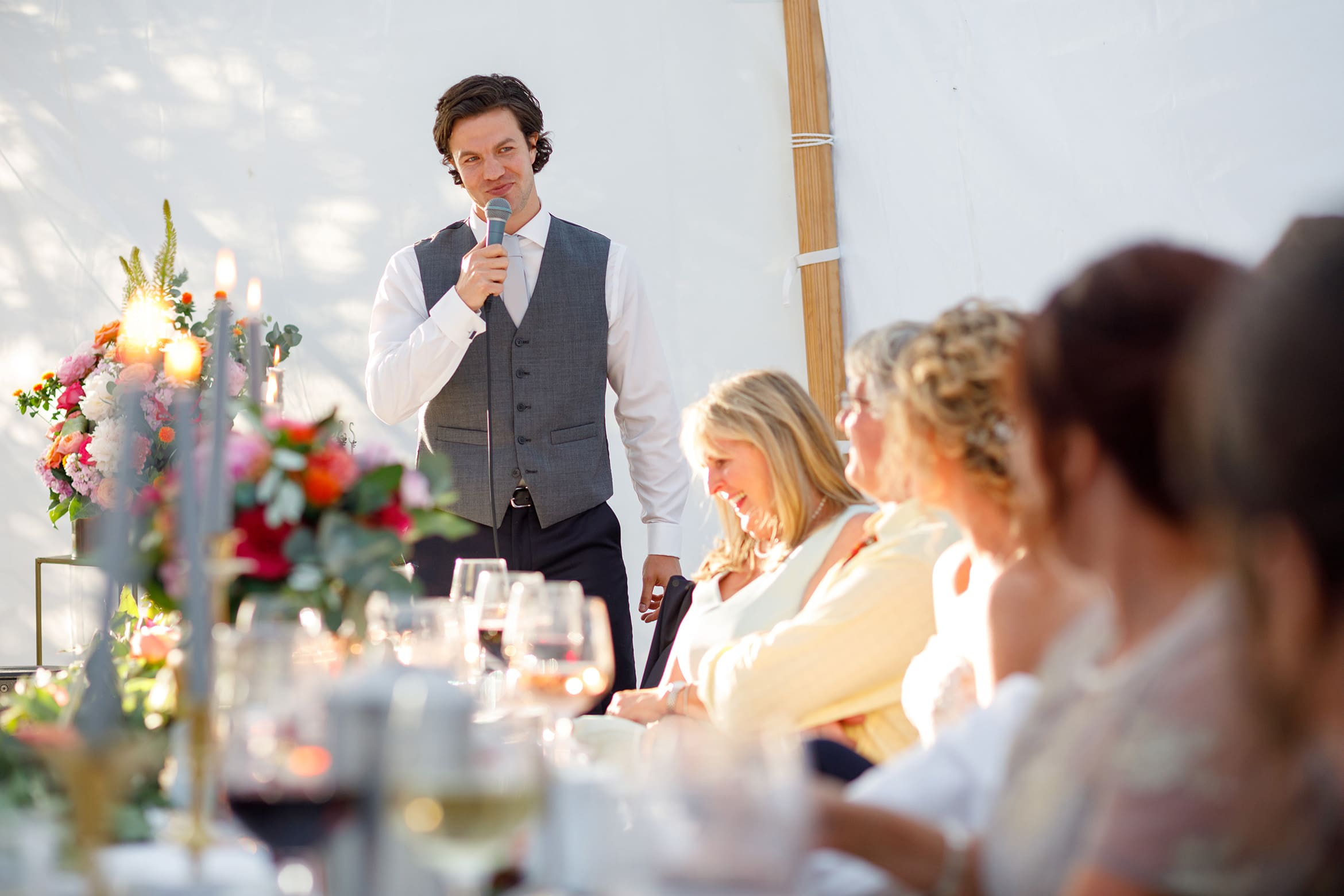 the best mans speech at a summer solstice wedding