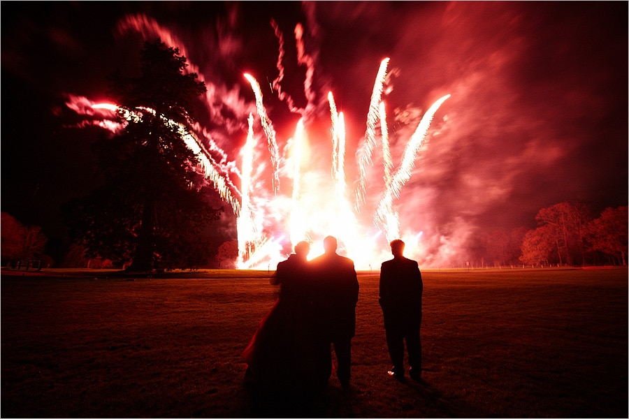 fireworks at loseley