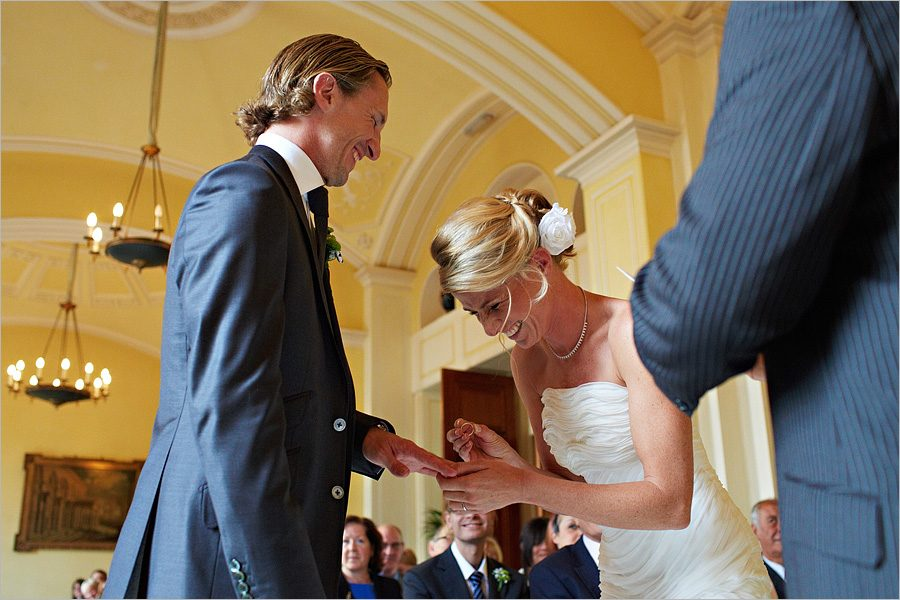 hartwell house wedding ceremony