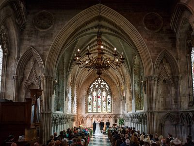 St Albans Cathedral Wedding - Ginny and Alistair