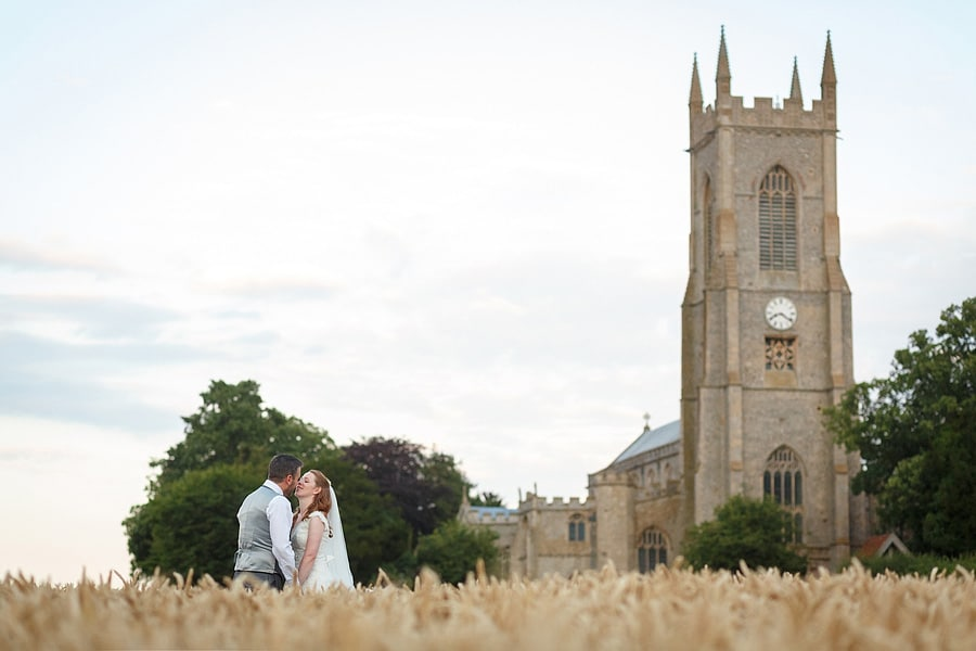 Sophie and Iain's Norfolk Wedding