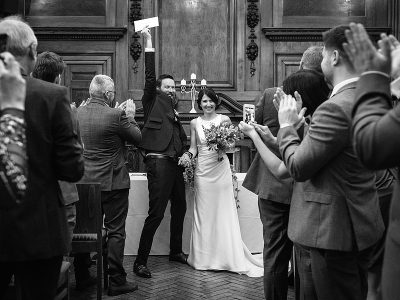 St Giles Hotel Wedding - Jodie and David