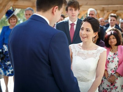 Married at Gaynes Park - Joely and Tom