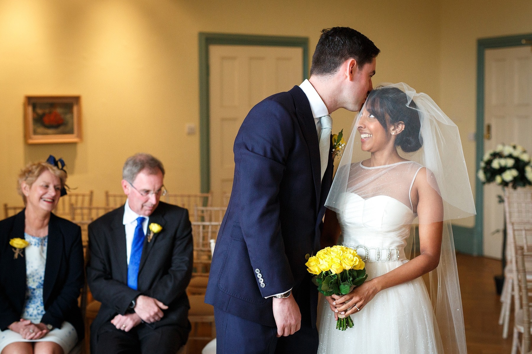 Sam and Rob part I, a Norwich Castle Wedding ceremony