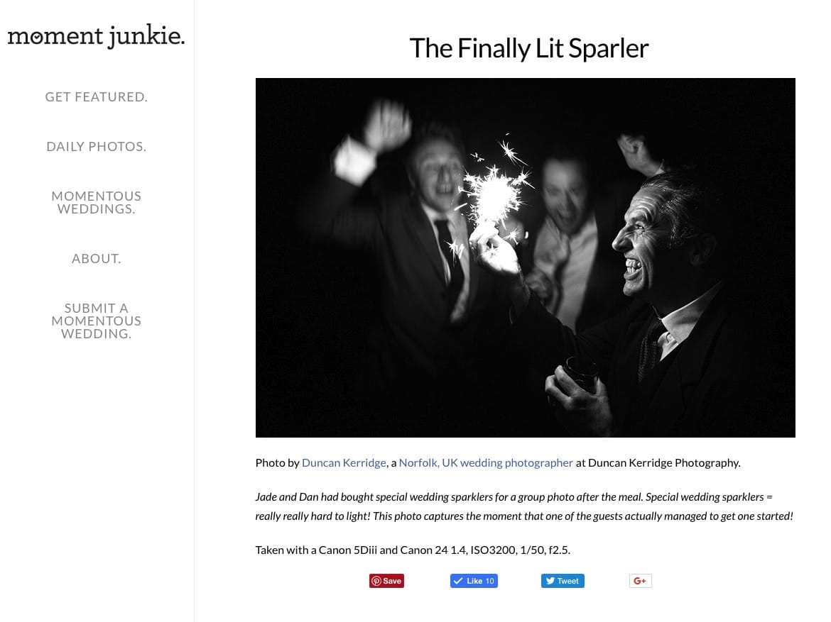 wedding photography featured ion moment junkie