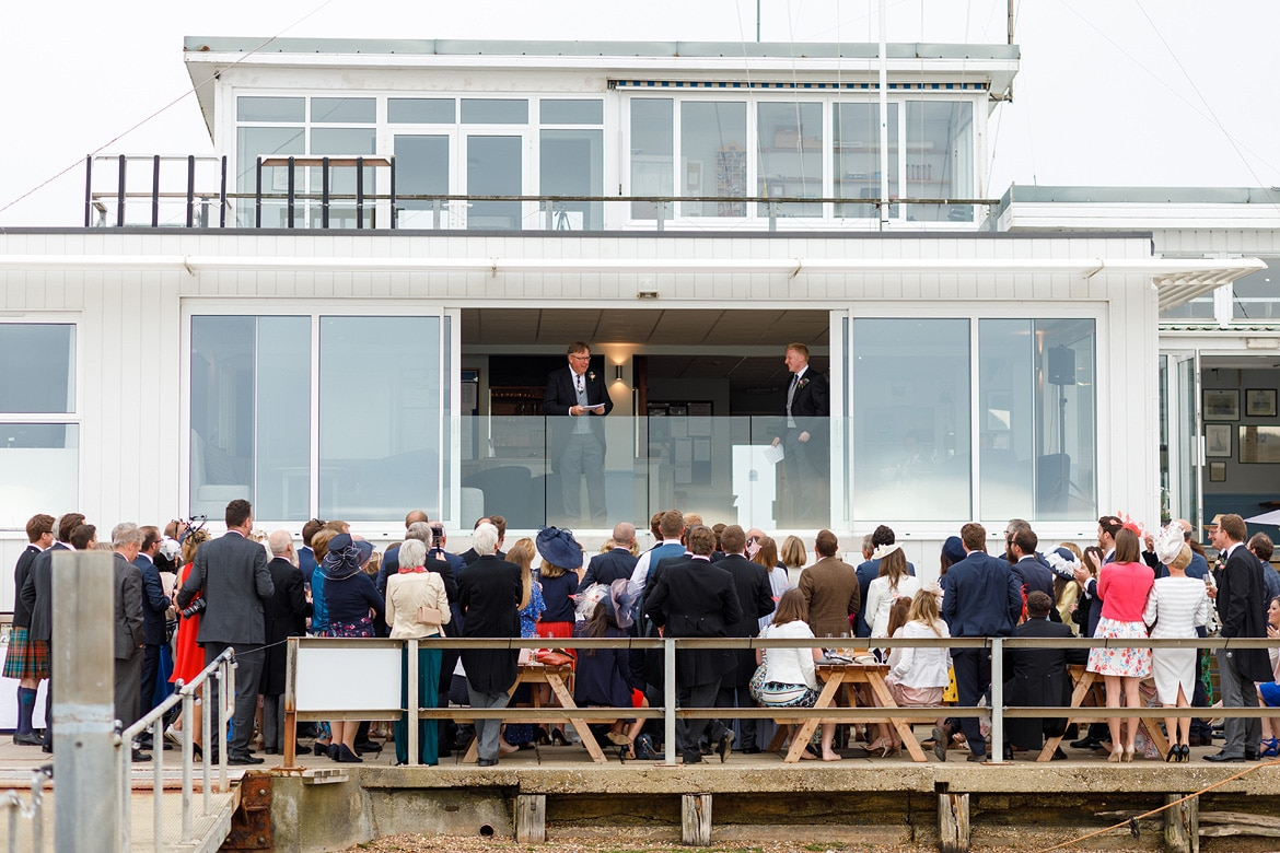 speeches at an aldeburgh yacht club wedding
