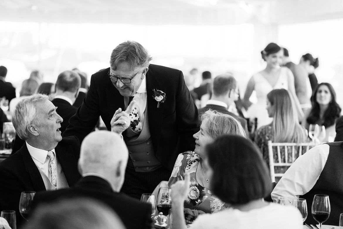 wedding guests at an aldeburgh wedding