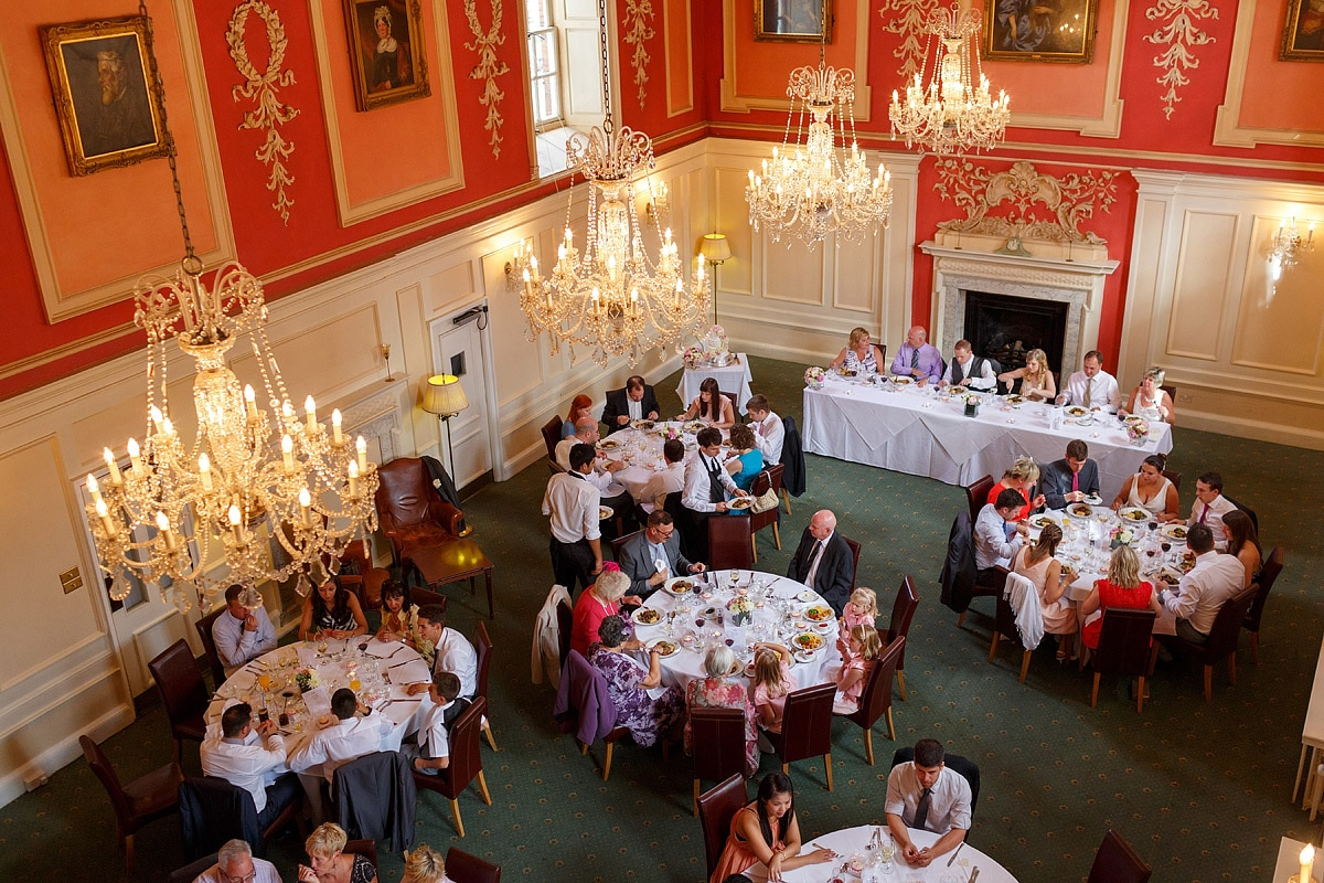 the assembly house dining room from above