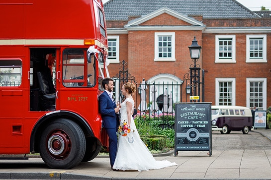 an assembly house norwich wedding couple