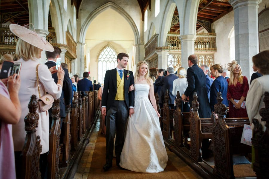 autumn wedding in suffolk
