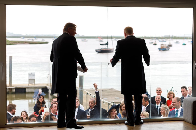 speeches at an aldeburgh yacht club wedding