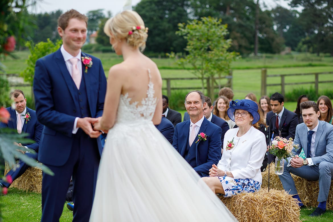 parents look on during a godwick wedding