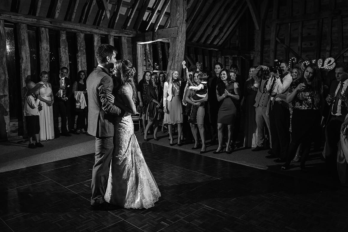 first dance a suffolk barn wedding