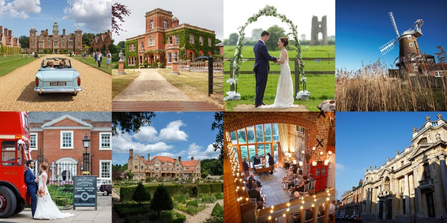 the best norfolk wedding venue for a wedding photographer