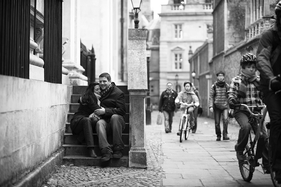 february engagement photos in cambridge