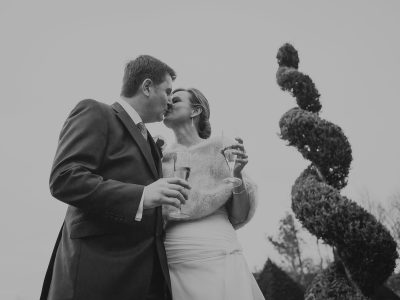 Chaucer Barn Wedding Photographer - Marika and Mark