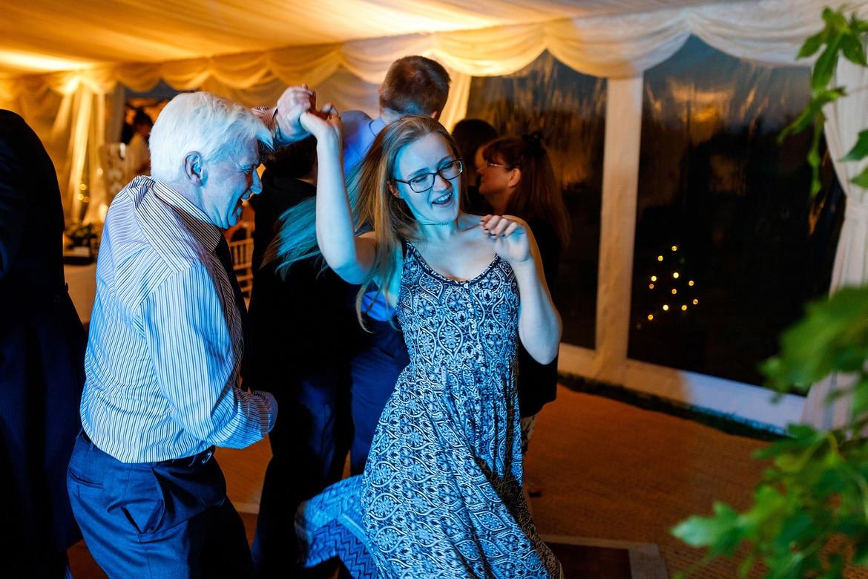 guests dance