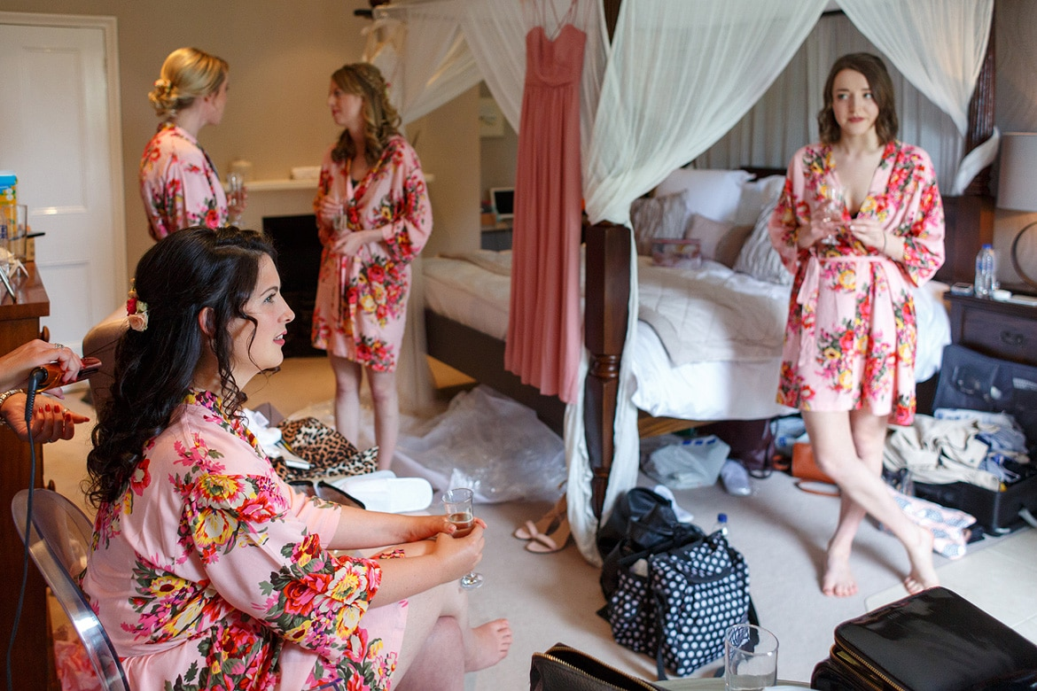 the girls get ready at godwick hall