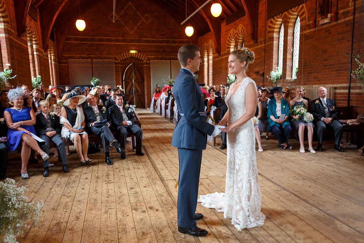 a wedding ceremony at gressenhal museum