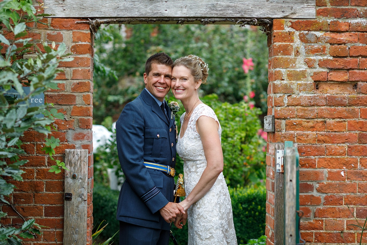 a couple portrait at gressenhall
