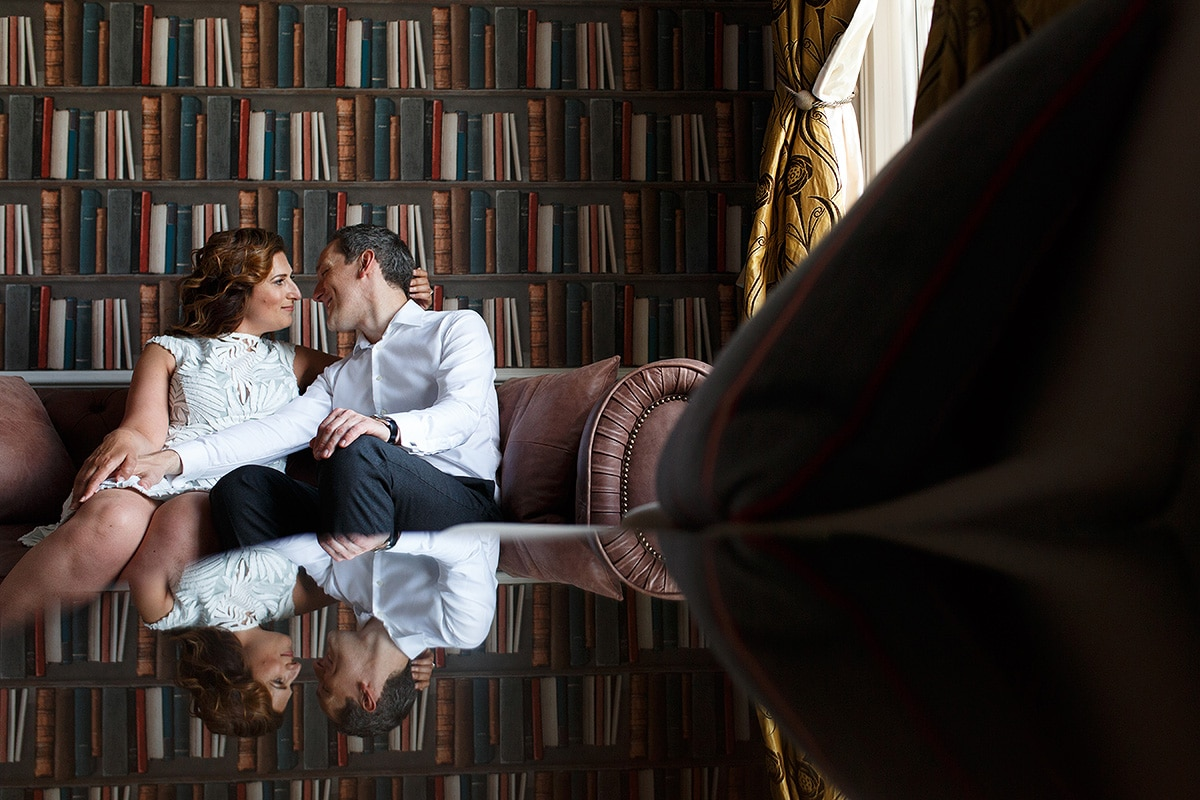 engagement photos at hedsor house