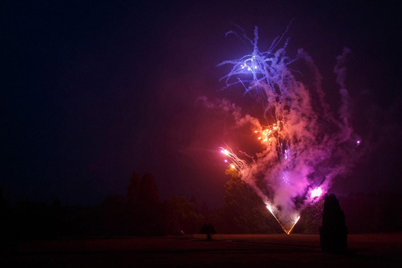 fireworks in hedsor park