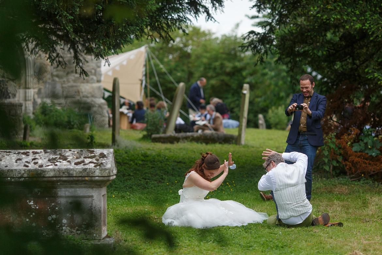 a wedding guest demands a photo