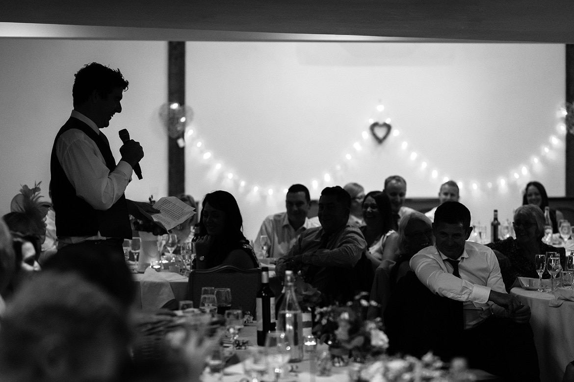 a best man speaks at maidens barn