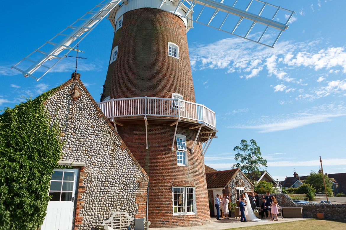 a north norfolk wedding at cley windmill