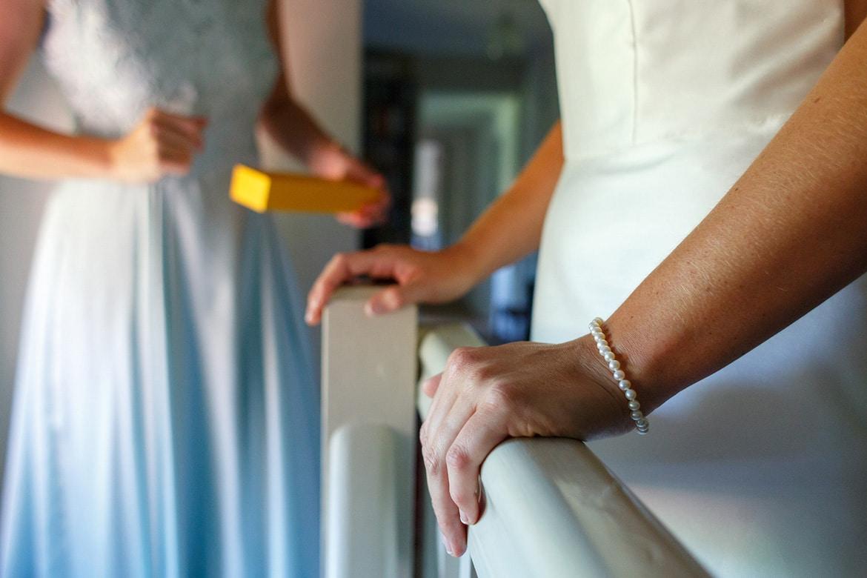 the brides pearl bracelet