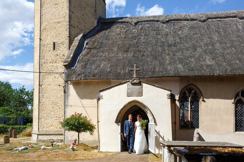 leaving old buckenham church