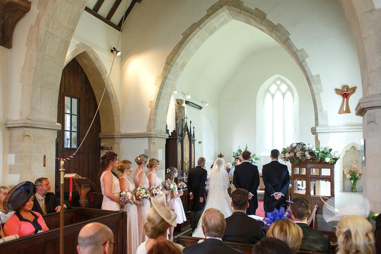 a wedding in st marys sydenham