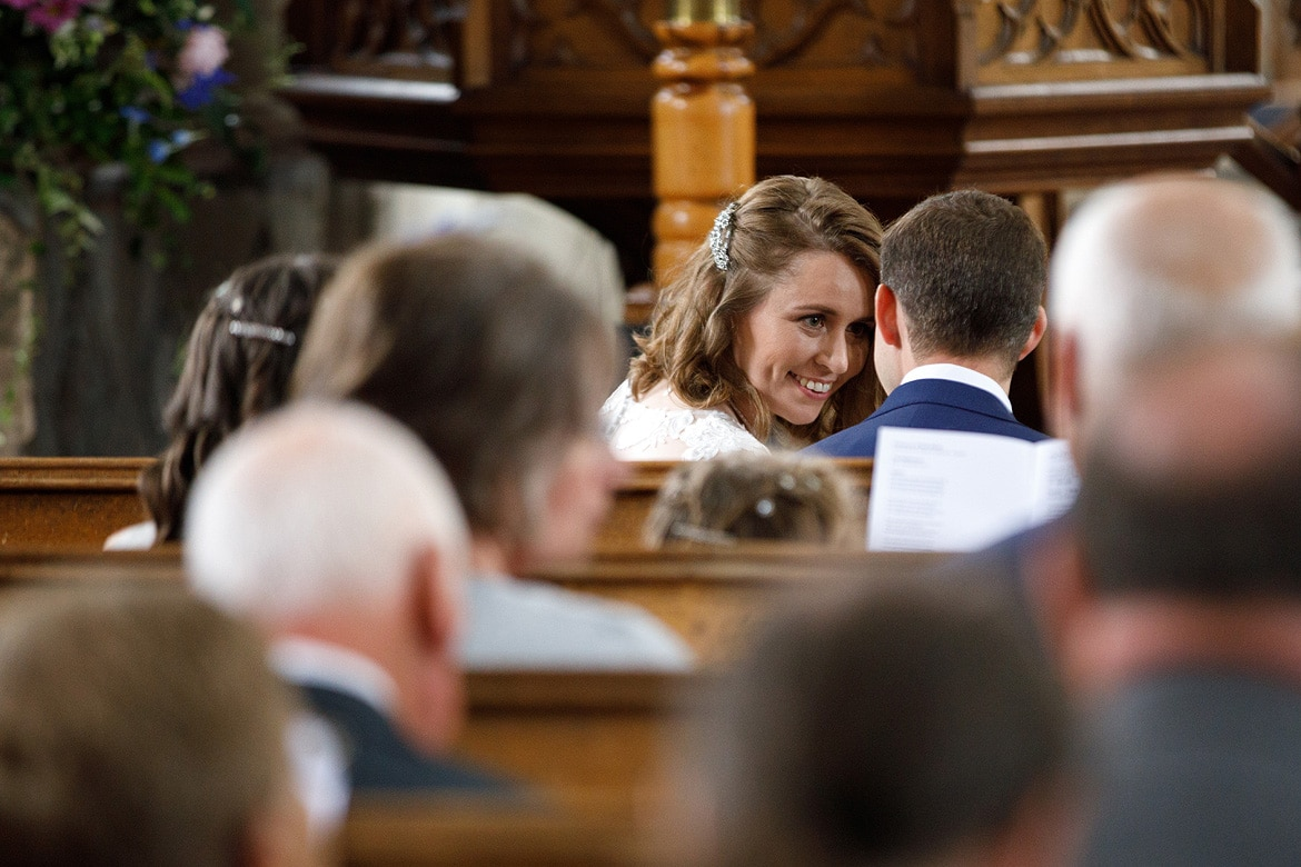 a stolen look during gail and nigels tuddenham mill wedding