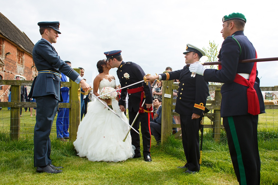 a military wedding at godwick barn