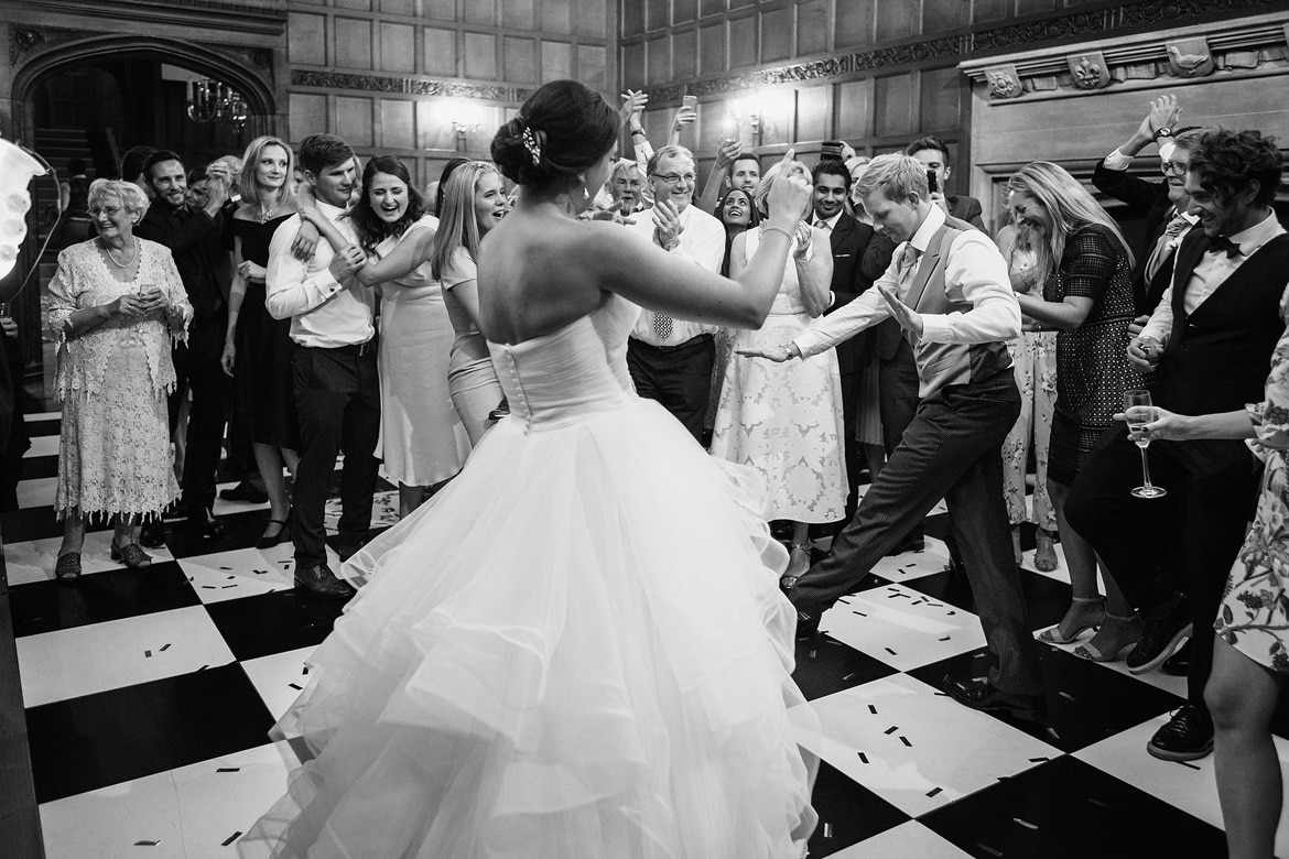 first dance at a hengrave hall wedding