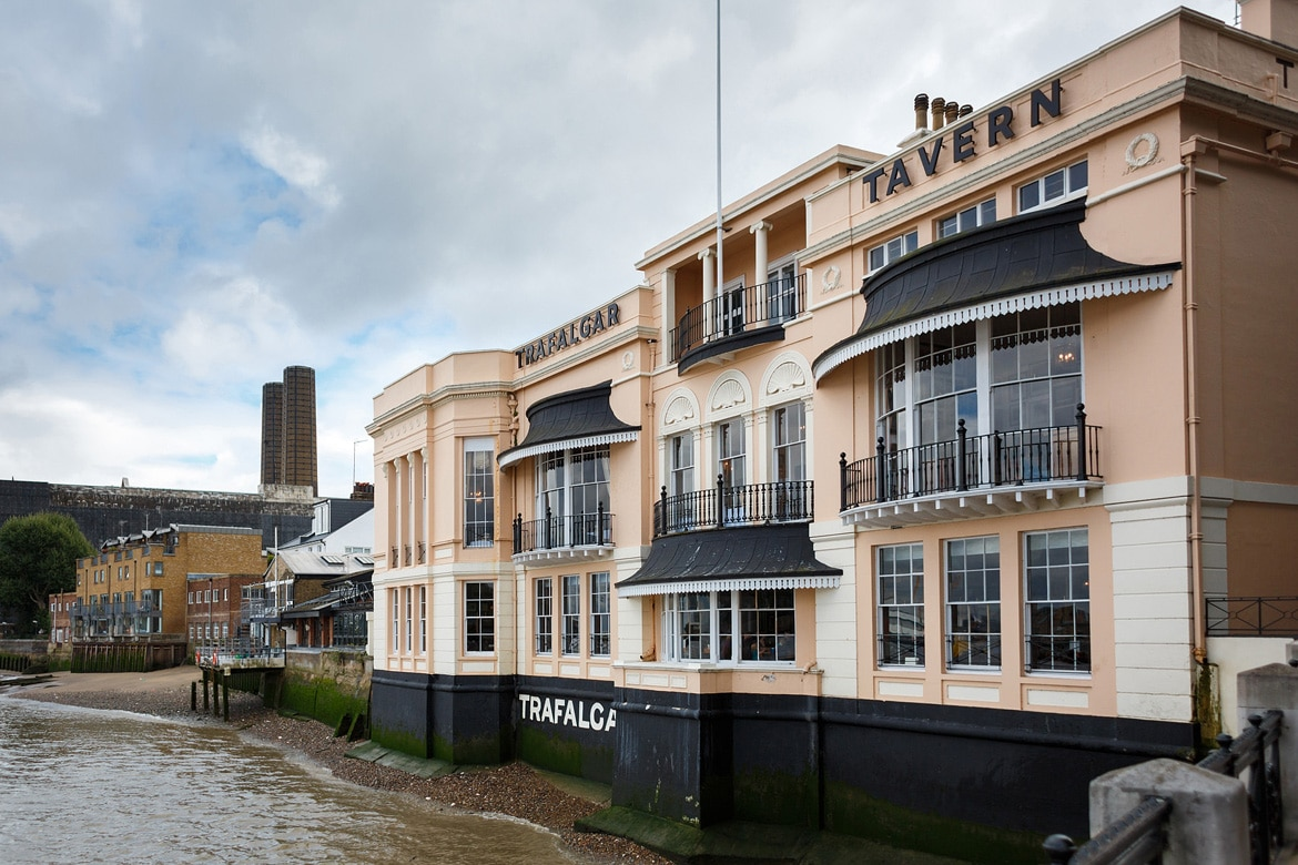 trafalgar tavern in london