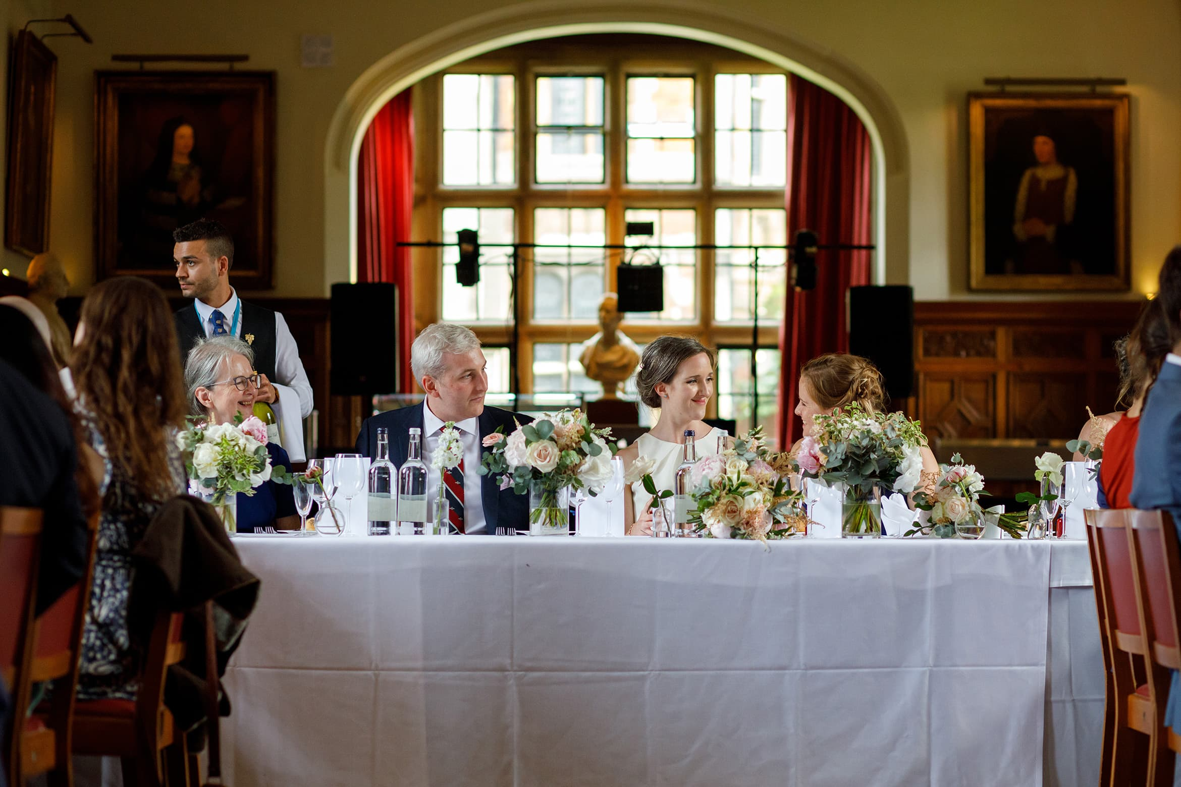 the top table chats